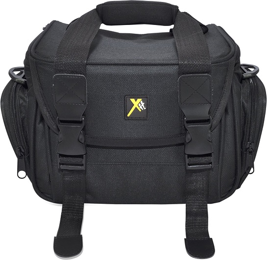 XTCC4 Deluxe Digital Camera/Video Padded Carrying Case, Medium - Black *FREE SHIPPING*