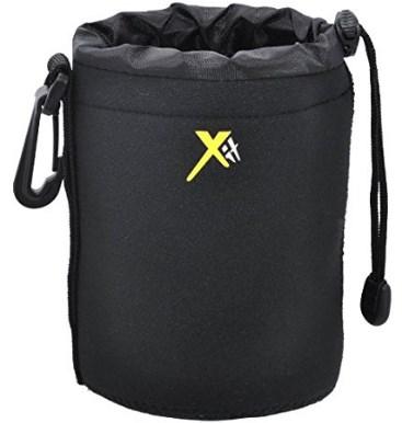 XTLPM Neoprene 6 In Soft Lens Pouch - Black *FREE SHIPPING*