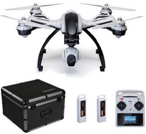 Typhoon Q500+ Quadcopter Pro Kit with with Extra Battery & Aluminum Carrying Case *FREE SHIPPING*