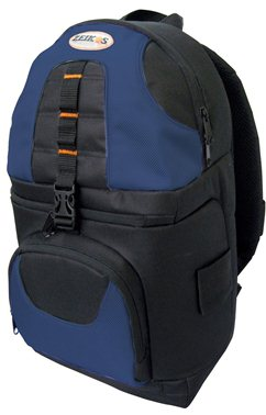 ZE-BP2S Deluxe BackPack Camera Case - Black/Blue *FREE SHIPPING*