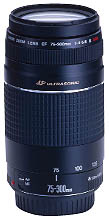 EF 75-300/4.0-5.6 III USM  Telephoto Zoom Lens (58mm) *FREE SHIPPING*