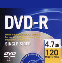 Dvd-R 4.7gb Write Only Disc
